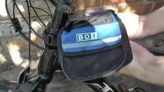 Из Китая посылка №58 Стильная сумка на велосипед. SSY-2287-BL Велоспорт
