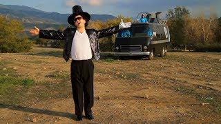 """Bye, Bye, Bye!"" - The Aquabats! Music Video ft. Samm Levine as Pilgrim Boy"