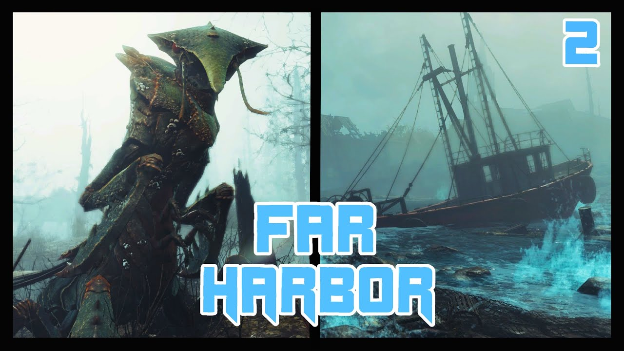 Fallout 4 Far Harbor Episode 2 Journey To Acadia Dlc