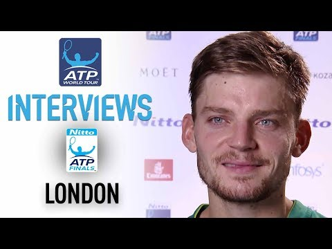Goffin Discusses Win Over Nadal Nitto ATP Finals 2017 Round Robin