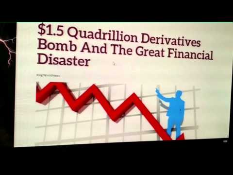 $1.5 QUADRILLION Derivatives Bubble Will Cause Financial Crisis! Part 2