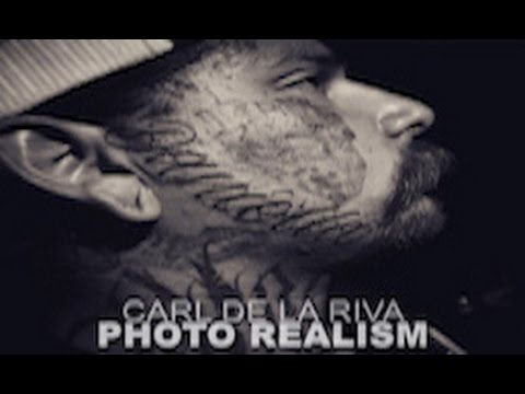Carl De La Riva - Photo Realism (Biography, California Tattoo Artist)