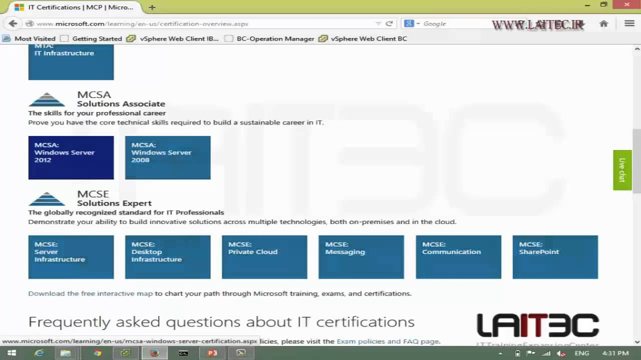 Certification Overview Youtube