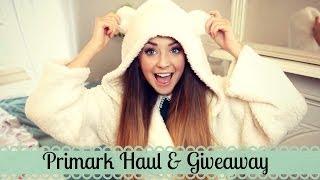 Primark Haul and Giveaway | Zoella
