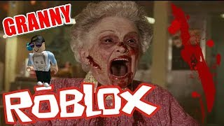 GRANNY IN ROBLOX ( MIEDO ) DIE FUNNIEST MOMENTS ( FUNNY MOMENTS )