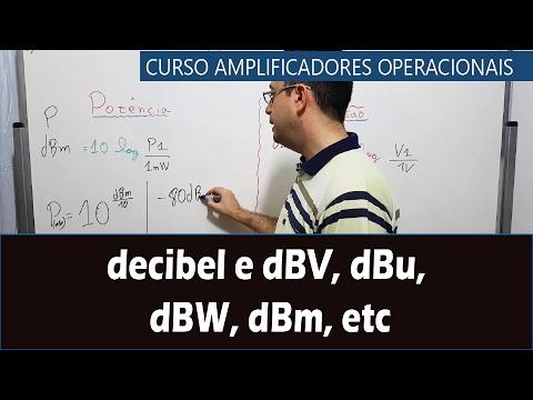 #23 - Mais sobre decibel e dBV, dBu, dBW, dBm