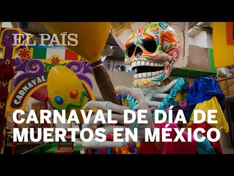 """Preparan """"carnaval"""" y """"desfile"""" de catrinas en CDMX"""