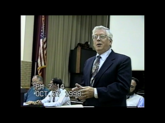 NCCS  Board Meeting  10-27-98