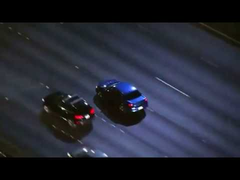 CBS Los Angeles   WATCH LIVE  LAPD chases driver in stolen car