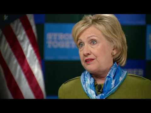 RAW: 9NEWS full interview with Hillary Clinton