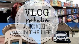 VLOG   Productive Author Day-In-The-Life ft. WORDASHES   P.O. Box Haul