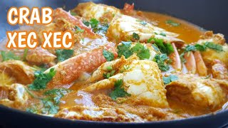 Crab Xec Xec Recipe | Goan Crab Masala | Seafood | Goan Recipes