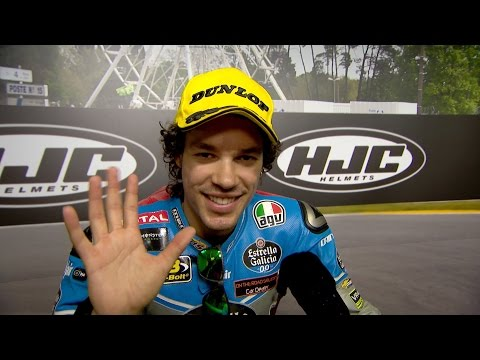 """Morbidelli: """"I knew I had the pace from the start"""""""