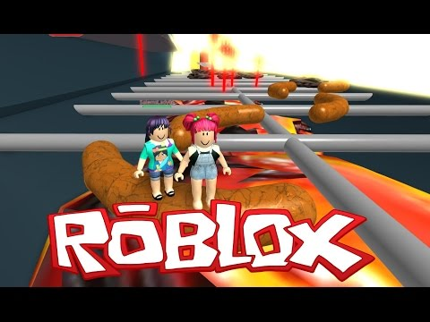 Roblox! | Escape The GIANT HAMBURGER! | Vegetarian Nightmare!! With Salems Lady! | Amy Lee33