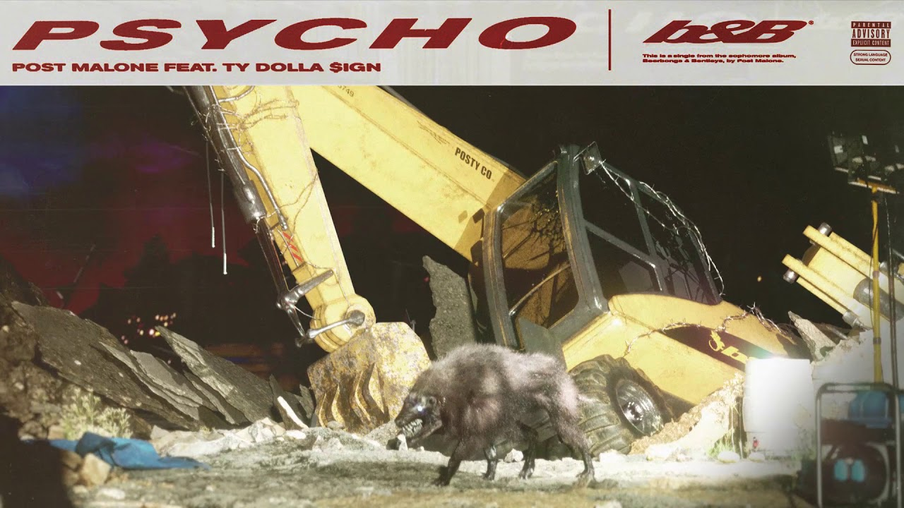 Post Malone Feat. Ty Dolla $ign - Psycho (Official Audio) #1