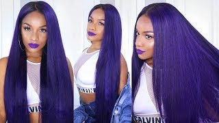 How to Color Your Hair Purple! | VERY DETAILED ft. Ali Grace Hair