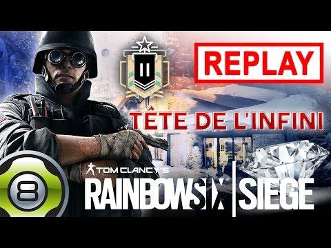 Nitro + tête de l'infini... 😍 - Match Classé - Rainbow Six Siege FR- Replay du 17.05.17