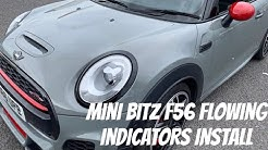 Mini Bitz F56 Flowing Side Indicators Install