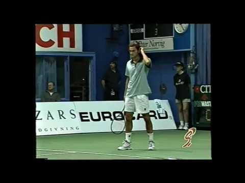 Copenhagen 2000 SF - Federer vs Larsson