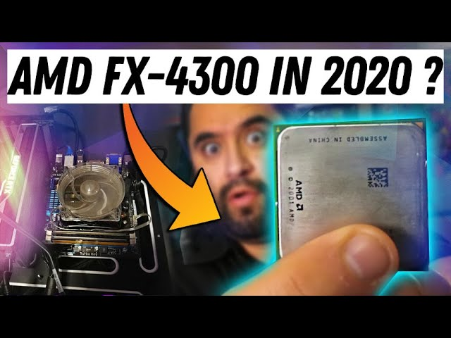 Amd Fx 4300 In 2020 How Does It Hold Up Youtube