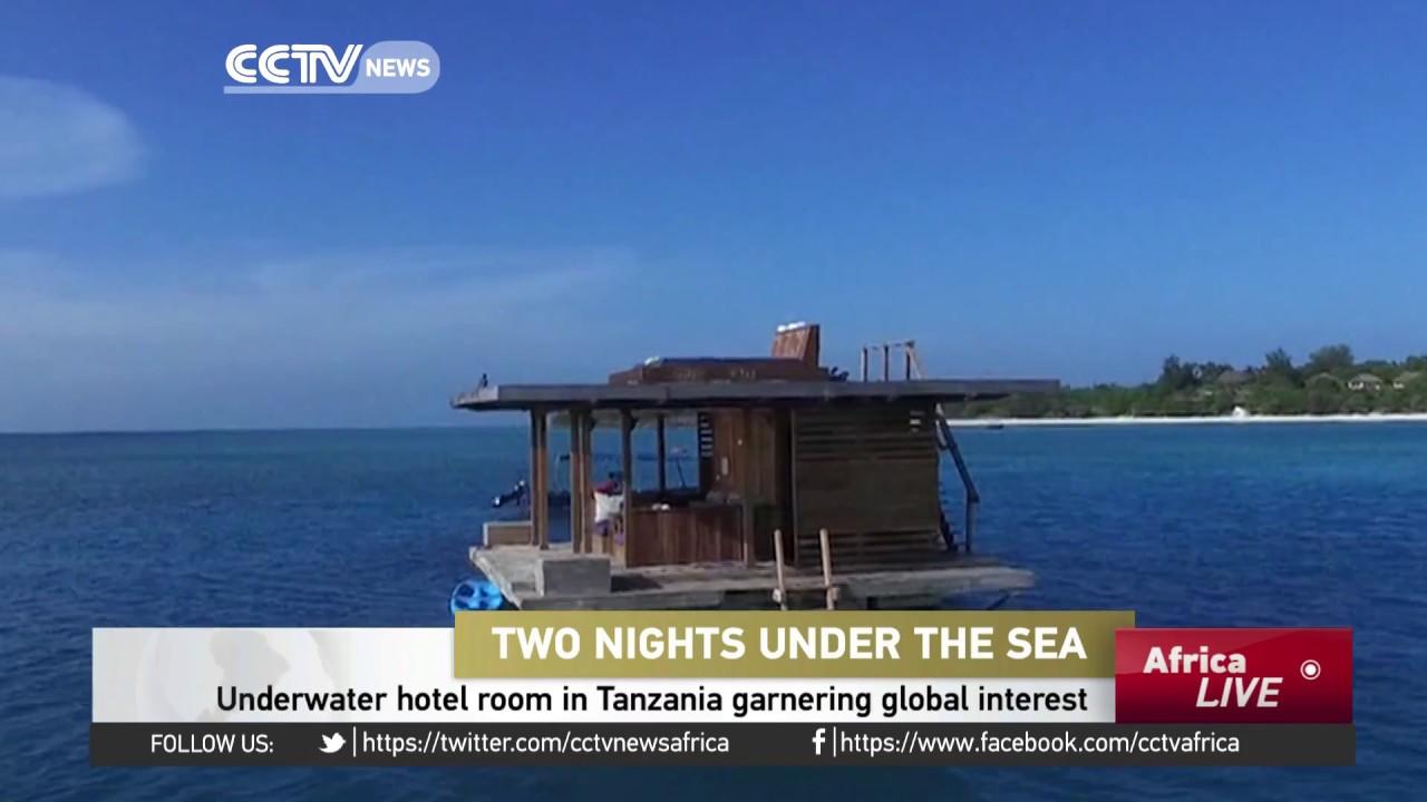 Underwater Hotel Room In Tanzania Garnering Global Interest