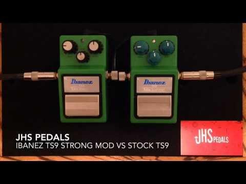 JHS Modified TS9 Strong MOD Vs Ibanez TS9