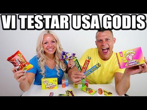VI TESTAR USA GODIS *VILKEN BLIR FAVORITEN*