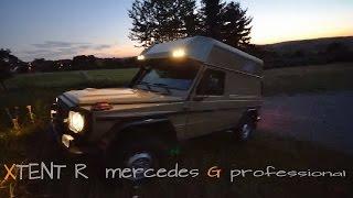 4x4CAMP XTENT auf Mercedes G Campervan Expeditionsfahrzeug