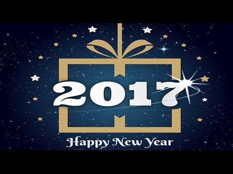 Happy New Year 2017 advance wishes, Greetings, whatsapp video,New year video free download, E card