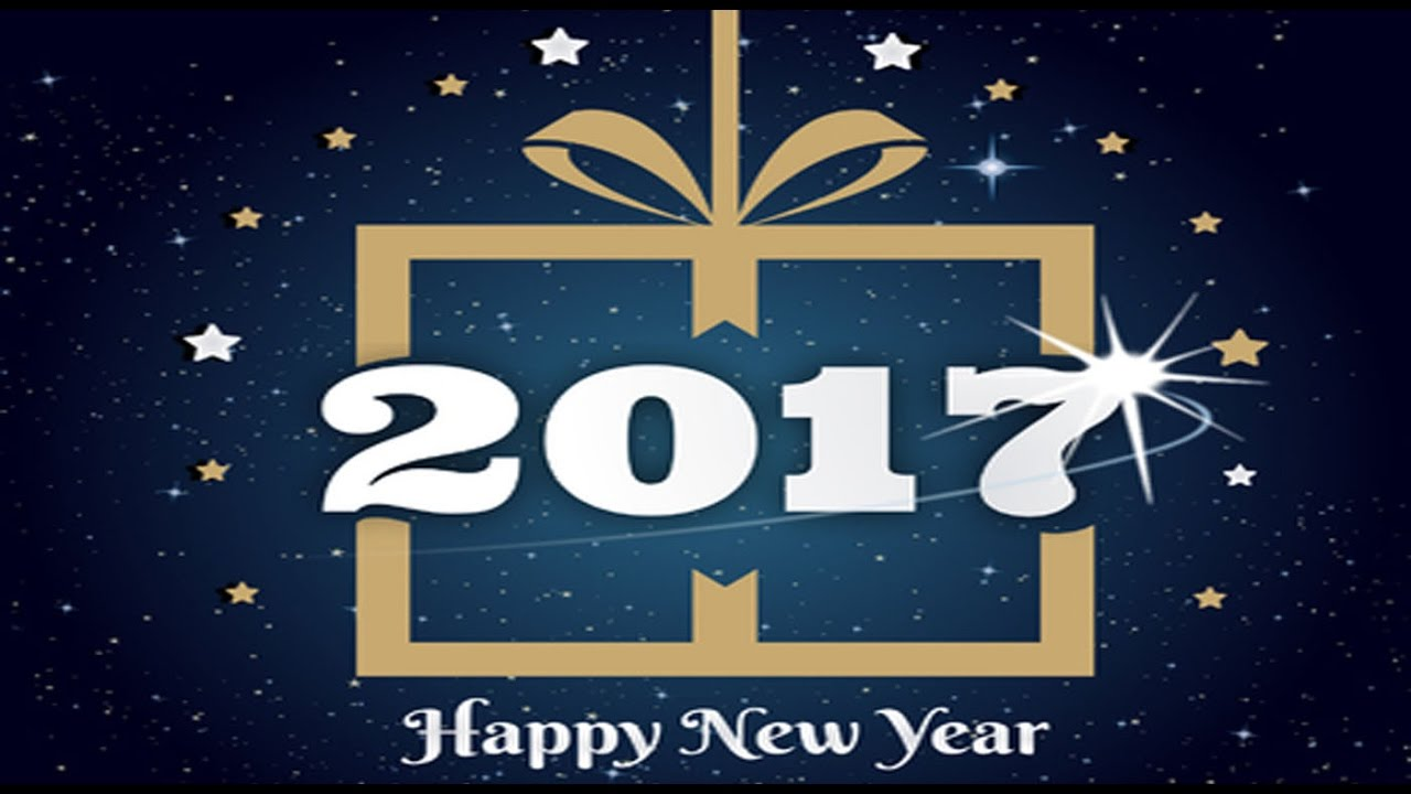 Happy New Year 2017 advance wishes, Greetings, whatsapp video,New ...