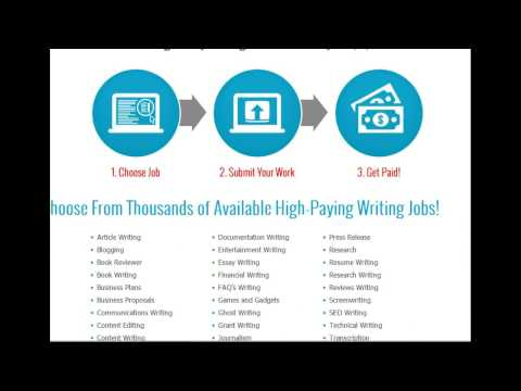 Make Money Online Freelance Writer - $500 - $1500 Monthly