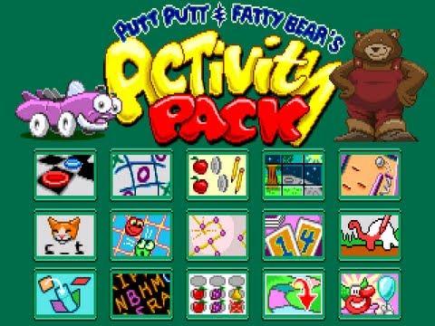 Putt-Putt and Fatty Bear's Activity Pack (Windows) Walkthrough