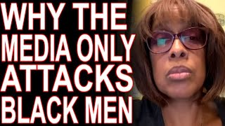 Why Cowardly Gayle King & Oprah Only Attack Black Men