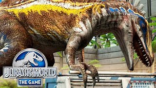 Максимальный АКРОКАНТОЗАВР - Jurassic World The Game 217