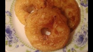 Пончики из яблок. Рецепт приготовления веганский