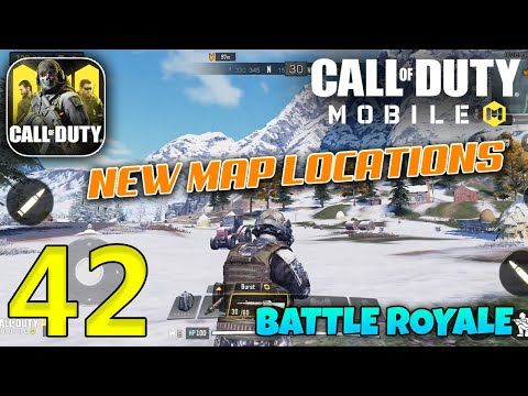 Call Of Duty Mobile Battle Royale New Map Locations Gameplay