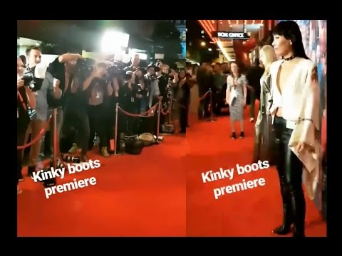 Dami Im - at Kinky Boots Premiere and Carla Zampatti Fashion Show 2017