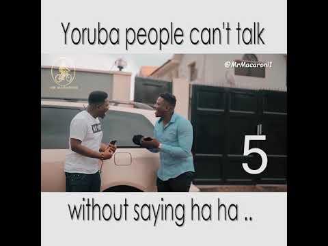 HOW YORUBA PEOPLE COMMUNICATE