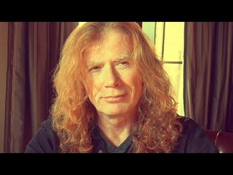 Megadeth's Dave Mustaine Reveals He's Fighting Cancer, Rock Musicians Show Support