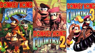 Donkey Kong Country Trilogy Playthrough