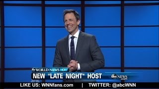 Seth Meyers Launches New 'Late Night' Show