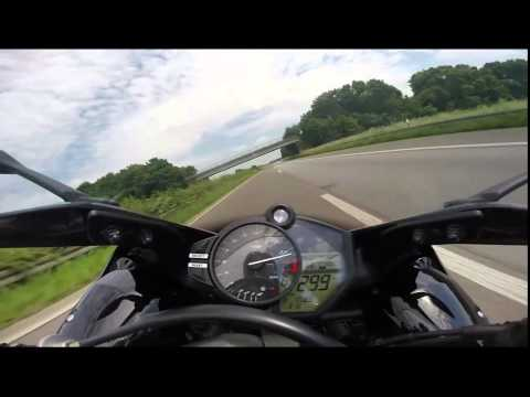 YAMAHA R1 - Top Speed New 300Kmh Verry shock!! ★★★★★