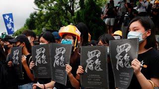 现场直播:香港大学生罢课集会