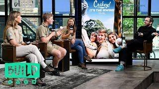 "Terri, Robert & Bindi Irwin Talk Animal Planet's ""Crikey! It's The Irwins"""