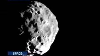 EuroNews - Space - Les lunes de Jupiter et Saturne