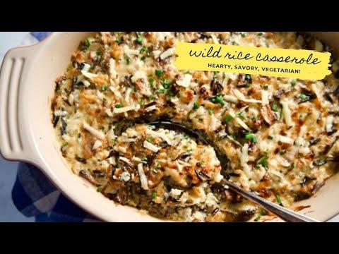 Wild Rice Casserole | Supernatural Everyday