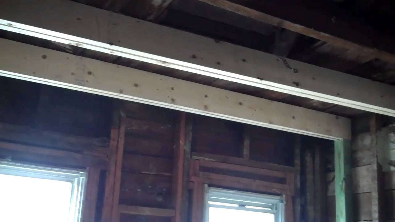 Joist Install A Sagging Roof Youtube