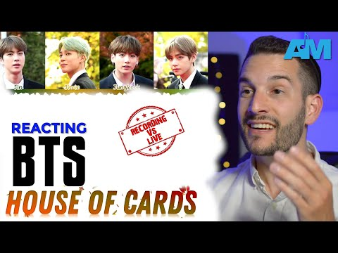 VOCAL COACH Reacts To BTS - House Of Cards