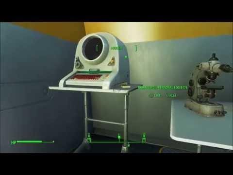 Fallout 4 Get Password to Get into Virgil Lab in Institute