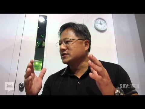 NVIDIA's Jen-Hsun Huang Interview